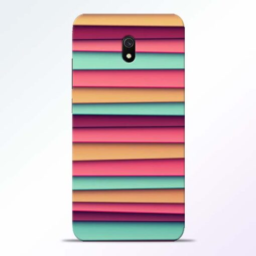 Color Stripes Redmi 8A Mobile Cover