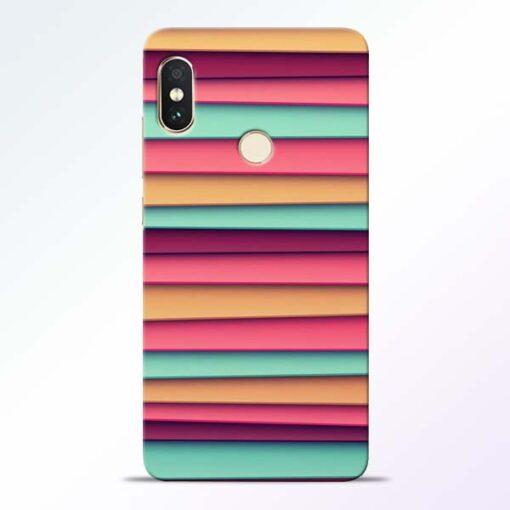 Color Stripes Redmi Note 5 Pro Mobile Cover