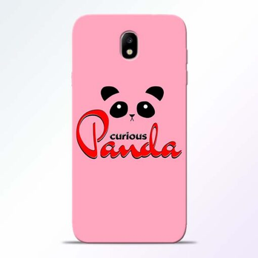 Curious Panda Samsung Galaxy J7 Pro Mobile Cover