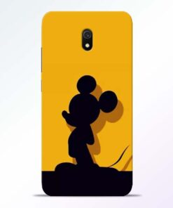Cute Mickey Redmi 8A Mobile Cover