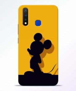 Cute Mickey Vivo U20 Mobile Cover
