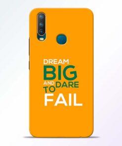 Dare to Fail Vivo U10 Mobile Cover
