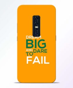 Dare to Fail Vivo V17 Pro Mobile Cover