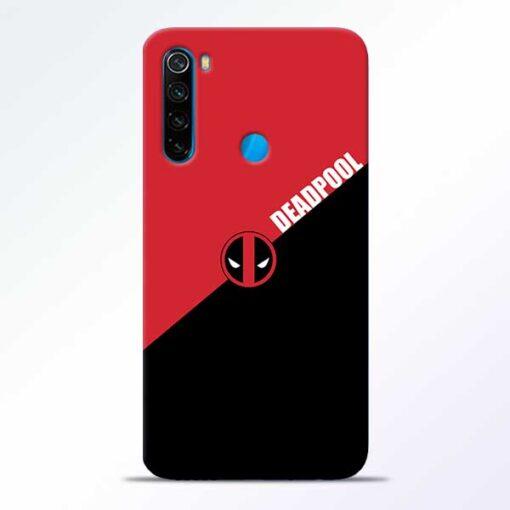 DeadPool Redmi Note 8 Mobile Cover