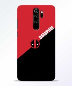 DeadPool Redmi Note 8 Pro Mobile Cover
