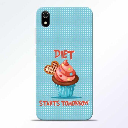 Diet Start Redmi 7A Mobile Cover
