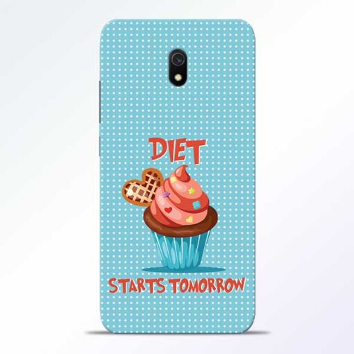 Diet Start Redmi 8A Mobile Cover