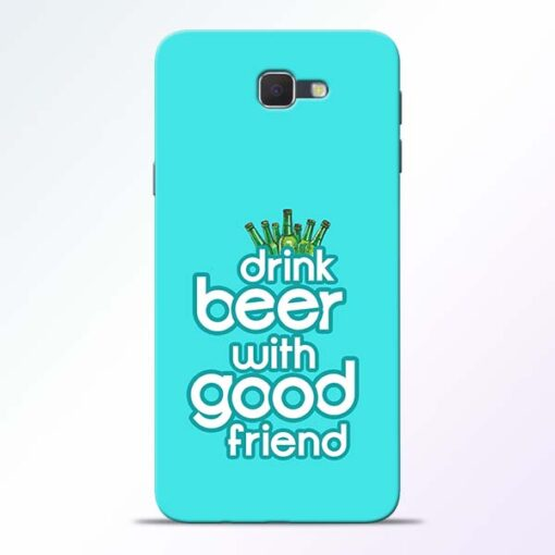 Drink Beer Samsung Galaxy J7 Prime Mobile Cover