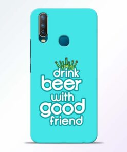 Drink Beer Vivo U10 Mobile Cover