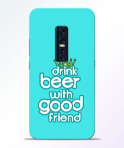 Drink Beer Vivo V17 Pro Mobile Cover