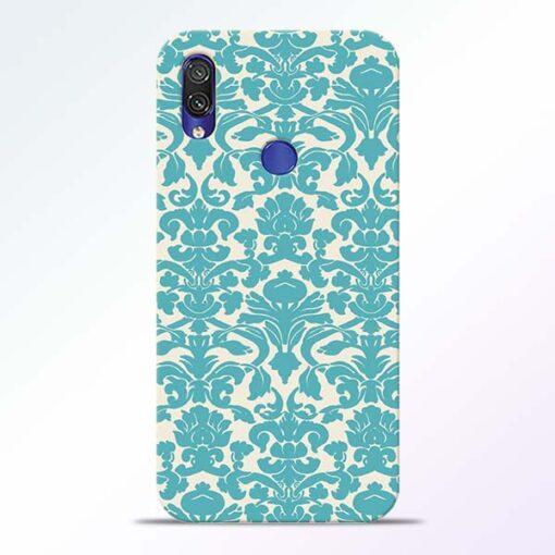 Floral Art Redmi Note 7 Pro Mobile Cover