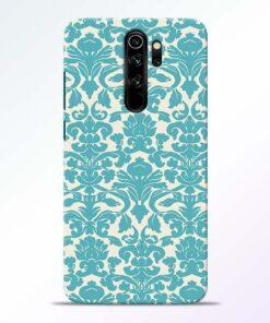 Floral Art Redmi Note 8 Pro Mobile Cover