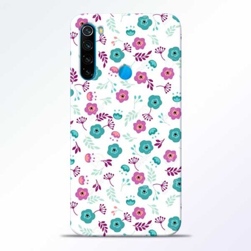 Floral Redmi Note 8 Mobile Cover
