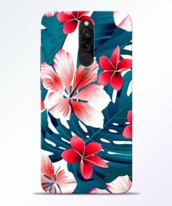 Flower Redmi 8 Mobile Cover