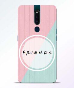 Friends Oppo F11 Pro Mobile Cover