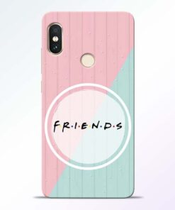 Friends Redmi Note 5 Pro Mobile Cover