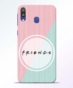 Friends Samsung Galaxy M20 Mobile Cover