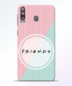 Friends Samsung Galaxy M30 Mobile Cover