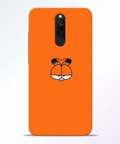 Garfield Cat Redmi 8 Mobile Cover