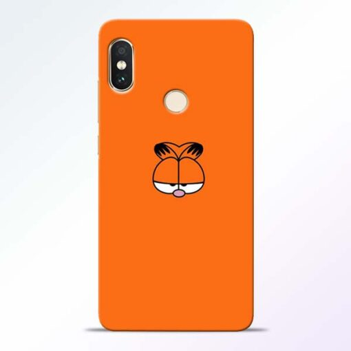 Garfield Cat Redmi Note 5 Pro Mobile Cover