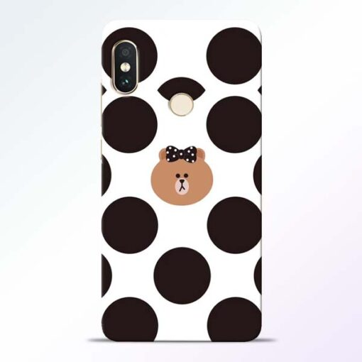 Girl Panda Redmi Note 5 Pro Mobile Cover