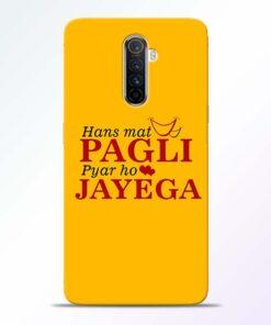 Hans Mat Pagli Realme X2 Pro Mobile Cover