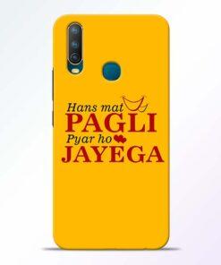 Hans Mat Pagli Vivo U10 Mobile Cover