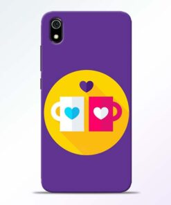 Heart Cup Redmi 7A Mobile Cover