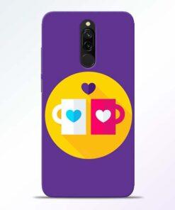 Heart Cup Redmi 8 Mobile Cover