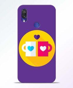 Heart Cup Redmi Note 7 Pro Mobile Cover