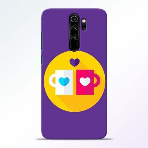 Heart Cup Redmi Note 8 Pro Mobile Cover