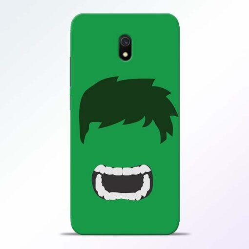 Hulk Face Redmi 8A Mobile Cover