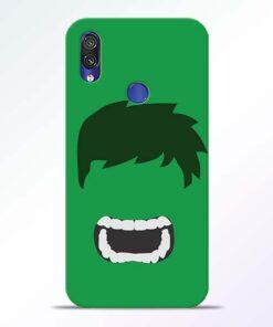 Hulk Face Redmi Note 7 Pro Mobile Cover