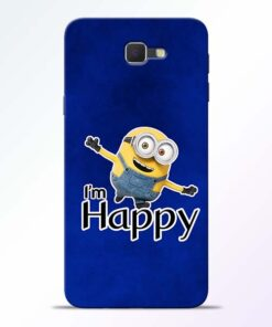 I am Happy Minion Samsung Galaxy J7 Prime Mobile Cover