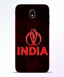 India Worldcup Samsung Galaxy J7 Pro Mobile Cover