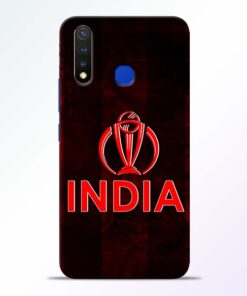 India Worldcup Vivo U20 Mobile Cover