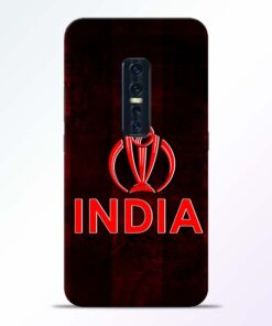 India Worldcup Vivo V17 Pro Mobile Cover