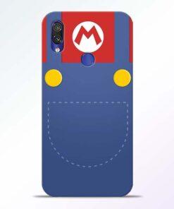 Jean Pocket Redmi Note 7 Pro Mobile Cover