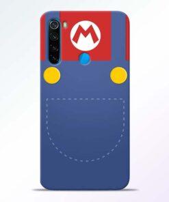 Jean Pocket Redmi Note 8 Mobile Cover