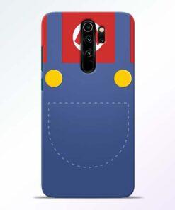 Jean Pocket Redmi Note 8 Pro Mobile Cover