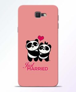 Just Married Samsung Galaxy J7 Prime Mobile Cover