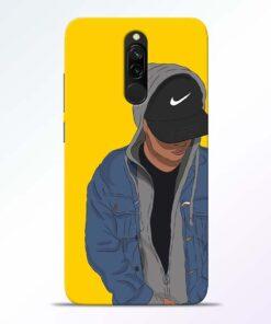 Kakashi Boy Redmi 8 Mobile Cover