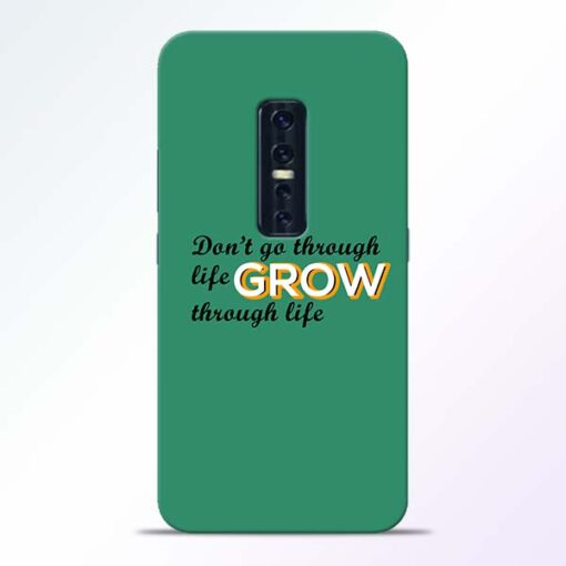 Life Grow Vivo V17 Pro Mobile Cover