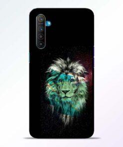 Lion Print Realme XT Mobile Cover