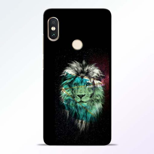 Lion Print Redmi Note 5 Pro Mobile Cover