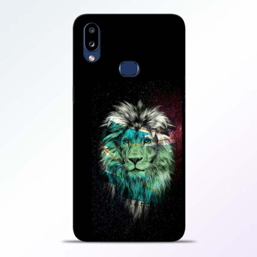 Lion Print Samsung Galaxy A10s Mobile Cover