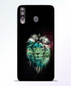 Lion Print Samsung Galaxy M30 Mobile Cover