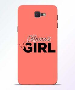 Mama Girl Samsung Galaxy J7 Prime Mobile Cover