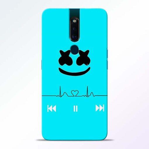 Marshmello Song Oppo F11 Pro Mobile Cover