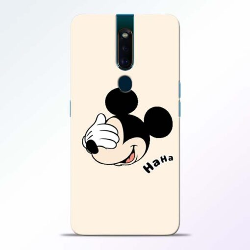 Mickey Face Oppo F11 Pro Mobile Cover
